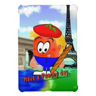 Peachy in France iPad Mini Cover