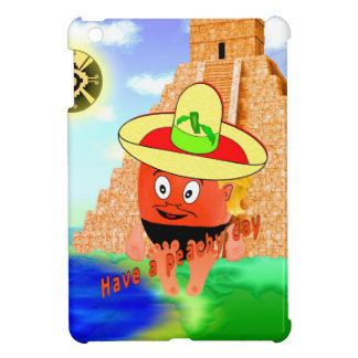 Peachy in Mexico iPad Mini Covers