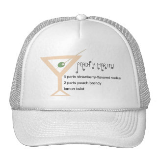 Peachy Martini Hat