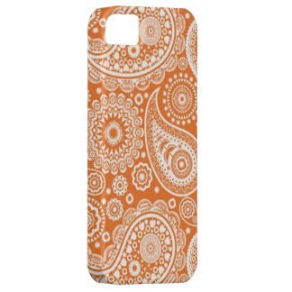 Peachy Paisley Phone Case