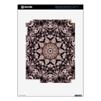 Peachy Pattern iPad 3 Decal