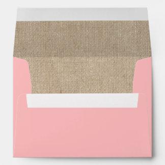 Peachy Petal Elegant Envelope