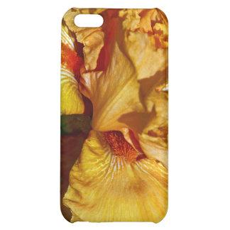 Peachy Petals Floral Design Case For iPhone 5C