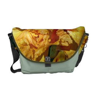 Peachy Petals Messenger Bag