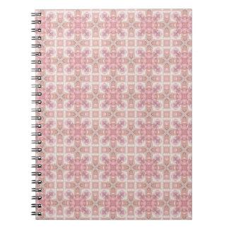 Peachy Pink Spiral Notebook