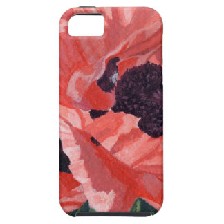 Peachy Poppies iPhone SE/5/5s Case
