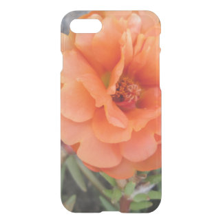 Peachy Portulaca Flower iPhone 8/7 Case