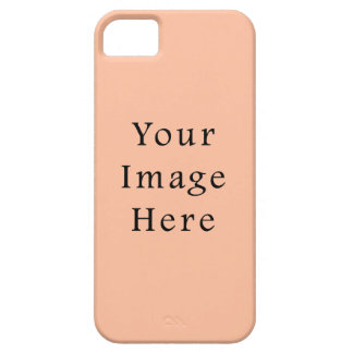 Peachy Skin Tone Beige Pink Color Trend Template iPhone SE/5/5s Case