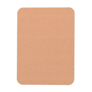 PEACHY SOFT SOOTHING SOLID ORANGE PASTEL BLUSH BAC MAGNET