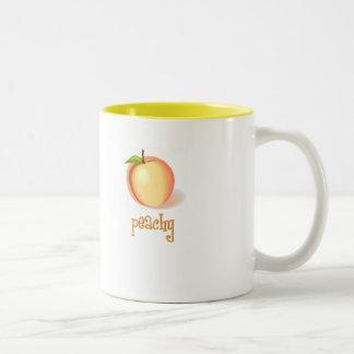 peachy Two-Tone coffee mug