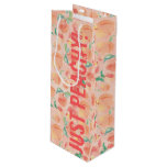 Peachy Wine Gift Bag