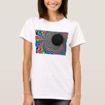 Peackock A Delic - Fractal Art T-Shirt