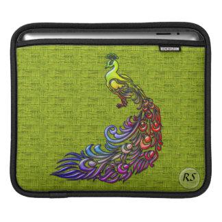 Peacock 2 iPad Sleeve