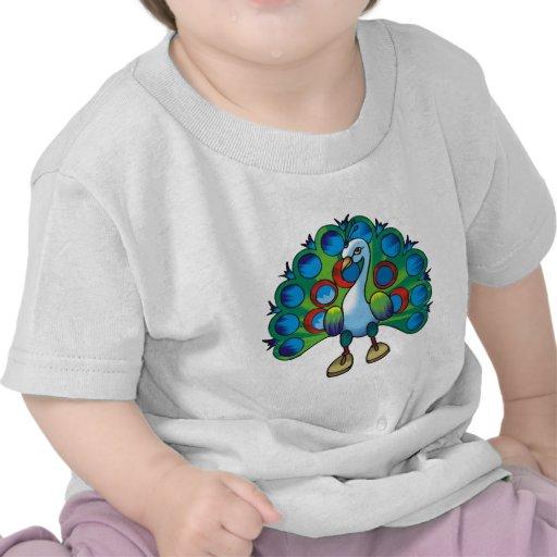 Peacock 2 t-shirts