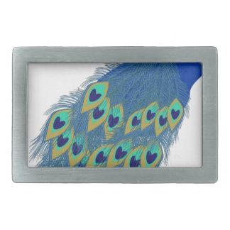 Peacock #3 belt buckle