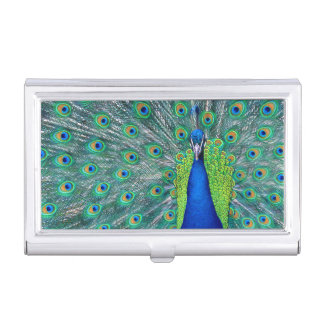 Peacock #3 case for business cards
