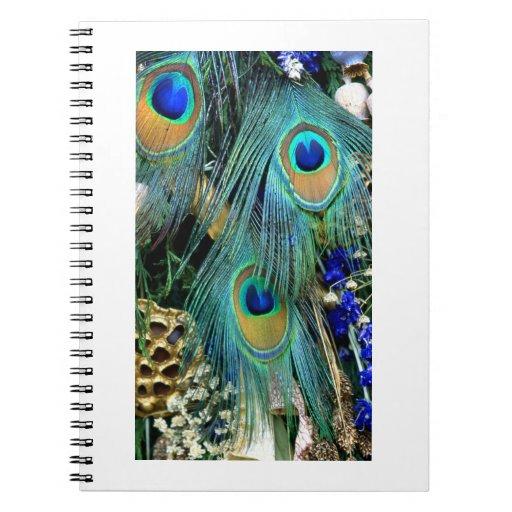 Peacock#4-Notebook Notebooks