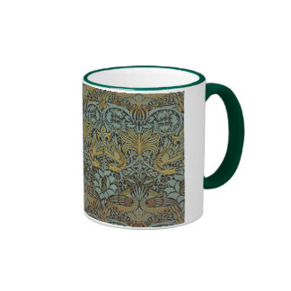 Peacock and Dragon By William Morris Coffee Mugs