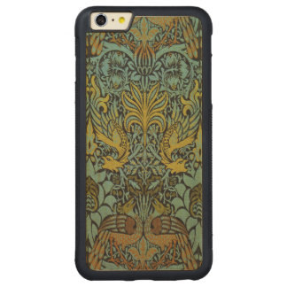 Peacock and Dragon William Morris Tapestry Design Carved® Maple iPhone 6 Plus Bumper