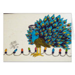 Peacock and Lights Cards