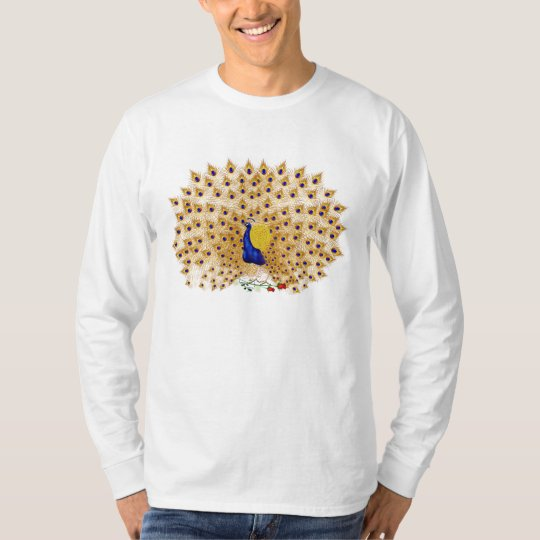 Peacock and Roses Shirts