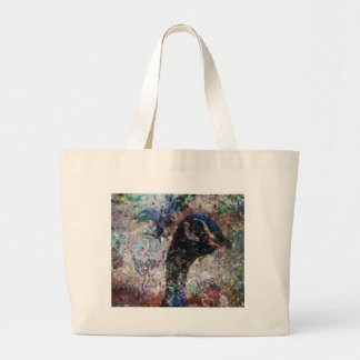 peacock_art_nola_kelsey.jpg jumbo tote bag