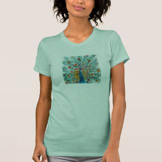 Peacock art t shirt