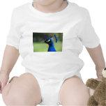 Peacock Baby Bodysuits