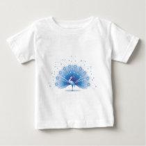 Peacock Baby T-Shirt