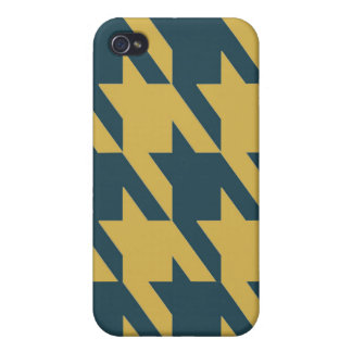 Peacock Bamboo Hound iPhone 4/4S Cases