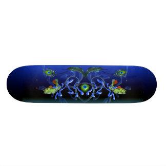 Peacock Bass Splash Skateboard