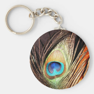 Peacock Beautiful Green Bird Animal Royal Luxury S Keychain