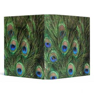 Peacock Binder binder