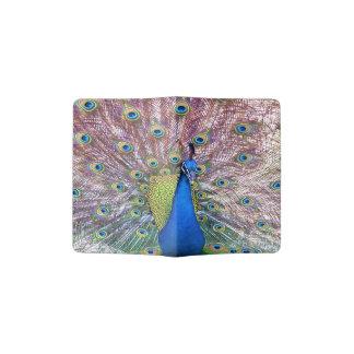 Peacock Bird Feathers Animal Passport Holder