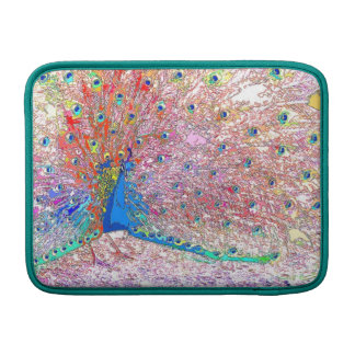 Peacock Bird Feathers Wildlife Animals MacBook Air Sleeve