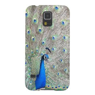Peacock Bird Galaxy Case