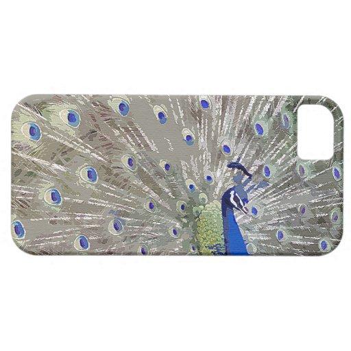 Peacock Bird Wildlife Animals Feathers iPhone SE/5/5s Case