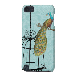 Peacock Birdcage Damask iTouch Case