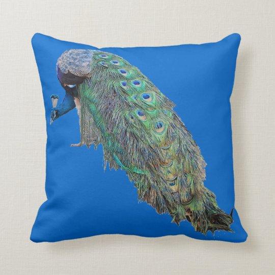 Peacock Birds Pillow