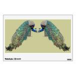 Peacock Birds Wall Decal