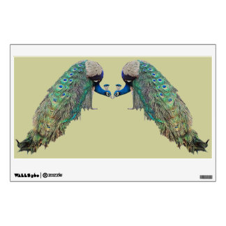 Peacock Birds Wall Decal