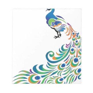 Peacock Bloc De Notas