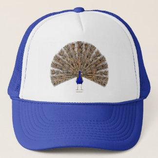 Peacock Blue Hat