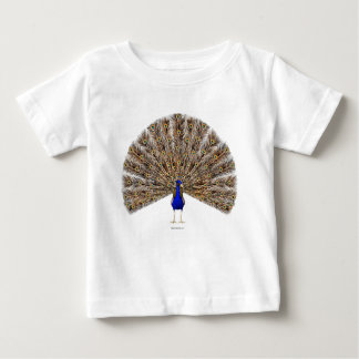 Peacock Blue Infant Shirts
