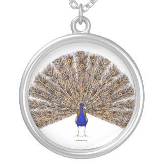Peacock Blue Necklace