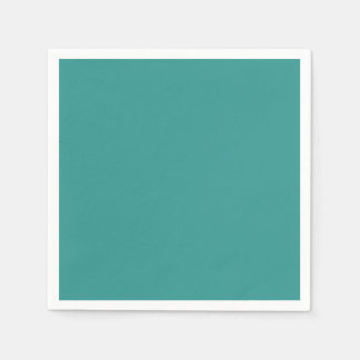 Peacock Blue Paper Napkins