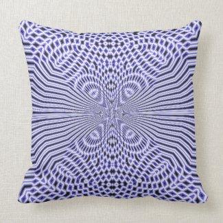 Peacock Blue Throw Pillows