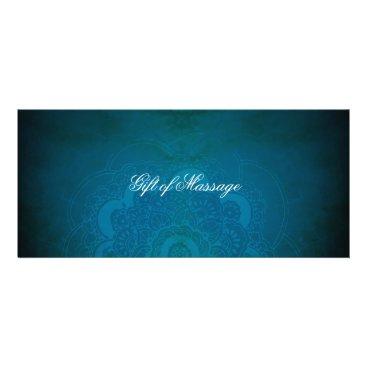 beckynimoy Peacock Blue Zen Mandala Gift Certificates