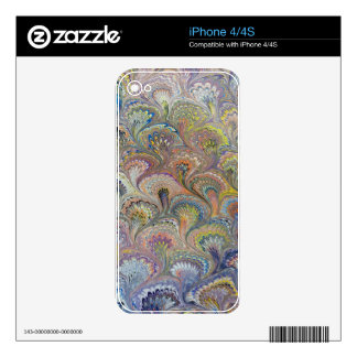 Peacock Bouquet iPhone 4S Skin