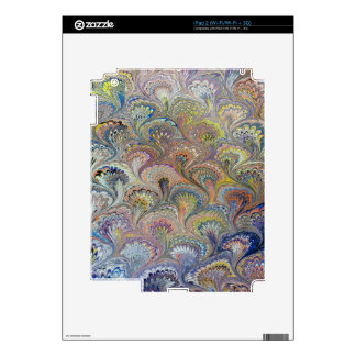 Peacock Bouquet Skins For The iPad 2
